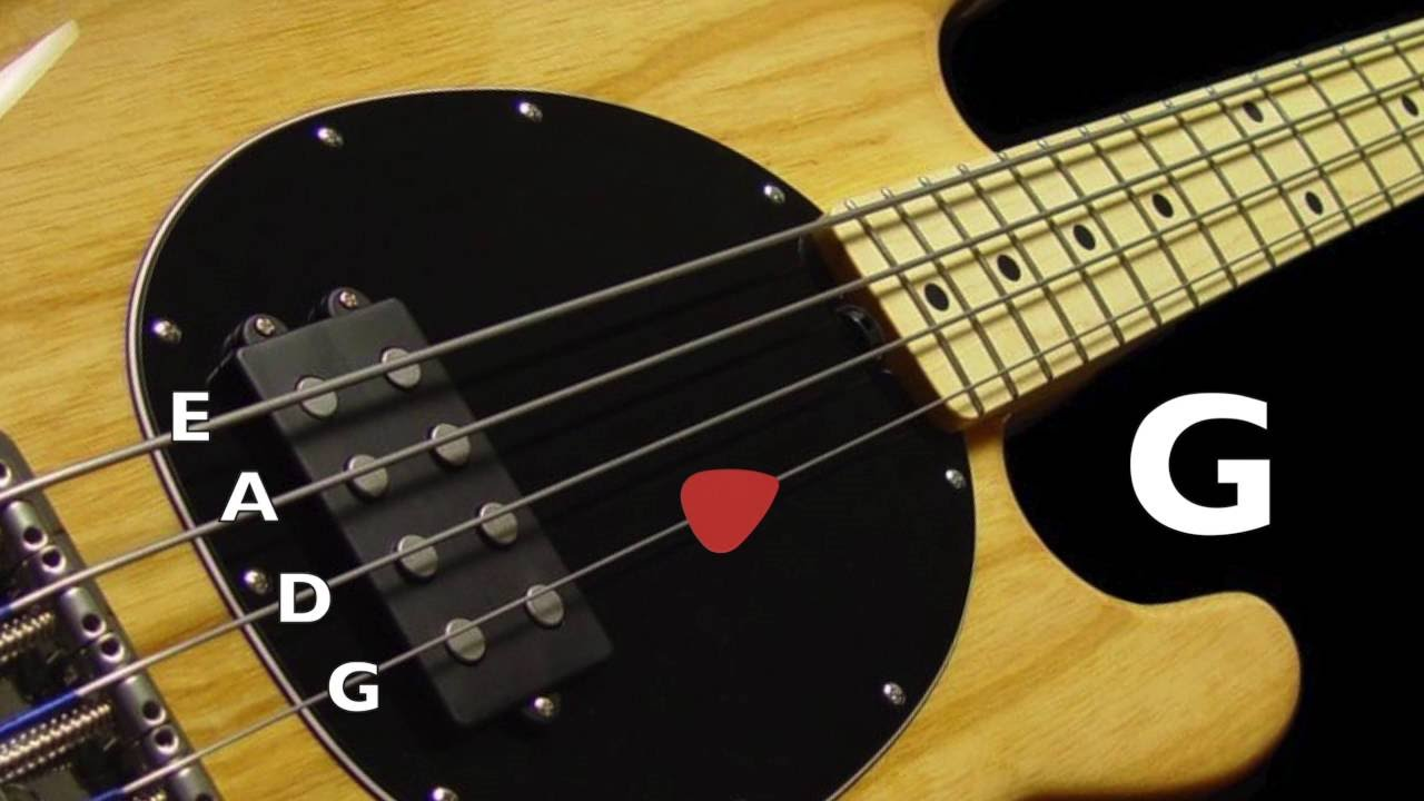 bass tuner standard bass tuning e a d g 4 strings youtube