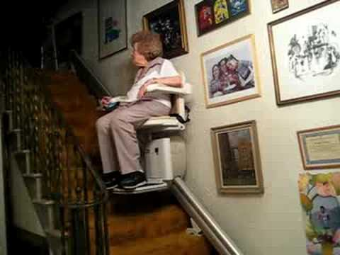 Grandmau0027s Stair Chair & Grandmau0027s Stair Chair - YouTube