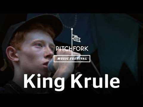 """King Krule performs """"The Noose of Jah City"""" at Pitchfork Music Festival"""