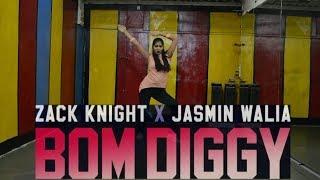 Zack Knight x Jasmin Walia - Bom Diggy   D.D.A Dance Academy