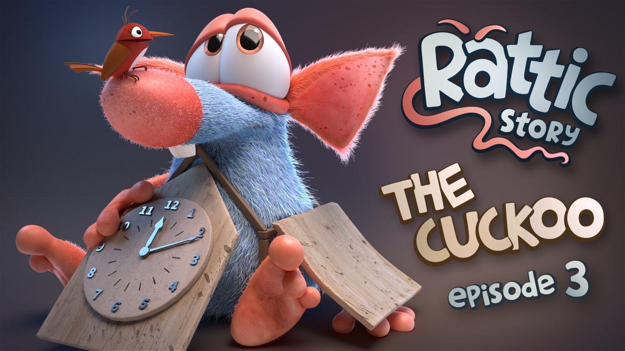 Download RATTIC - THE CUCKOO | Season 1 Episode 3 | NEW 3D Animated Funny Cartoon Series FULL HD
