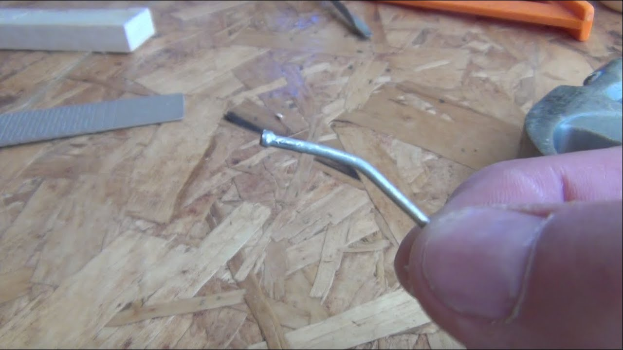 how to bend a nail