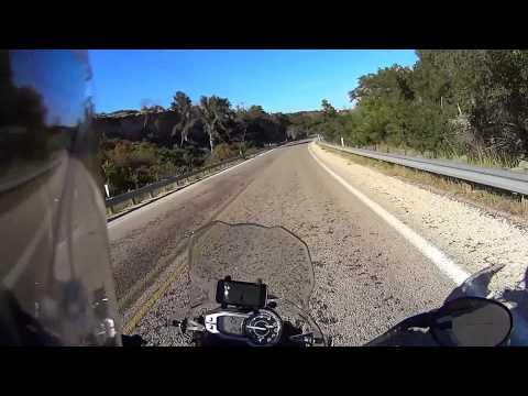 Saturday Ride; Possum Kingdom to Mineral Wells, TX on a Triumph Tiger 800 XC