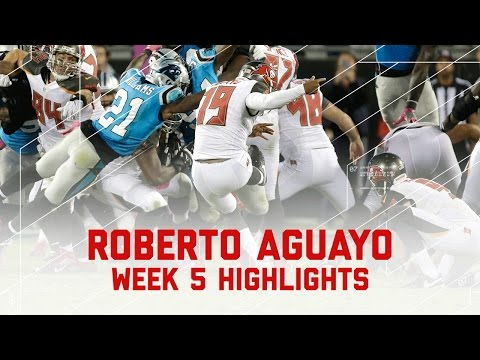 Aguayo Shakes Nightmare Start & Kicks Game Winner! | Bucs vs. Panthers | NFL Wk 5 Player Highlights