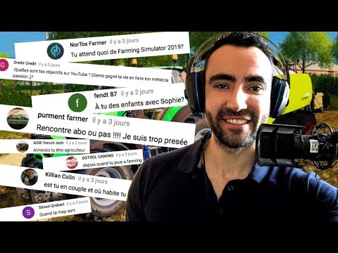 LA VIDÉO QUE VOUS ATTENDIEZ TOUS !!! (Vidéo FAQ) - JFITfarmer