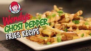Wendy's Ghost Pepper Fries Recipe Remake  |  HellthyJunkFood