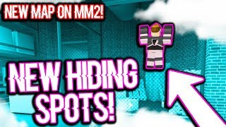 BEST NEW HIDING SPOT IN FACTORY! (Roblox Murder Mystery 2)