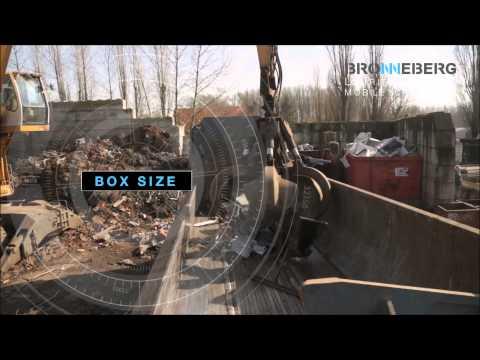 Mobile Scrap Shear Bronneberg - Mobile Schrottschere - Presse cisaille mobile - Pressklippar