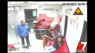 sudden death of News Anchor in News office-Live video of anchor death