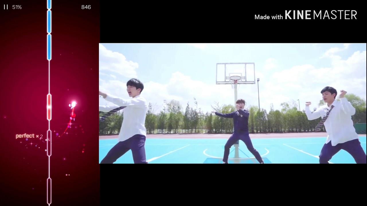 장송호Love ME RiGHT' DANCE {EXO 엑소} 음악 리듬게임