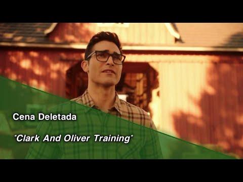 "ElseWorlds • Cena Deletada ""Clark And Oliver Training"". (Legendado)"