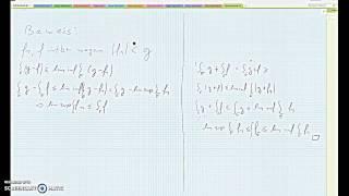 satz der monotonen konvergenz