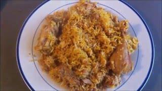 Maryams Biryani (indisches Festtags-Reisgericht)