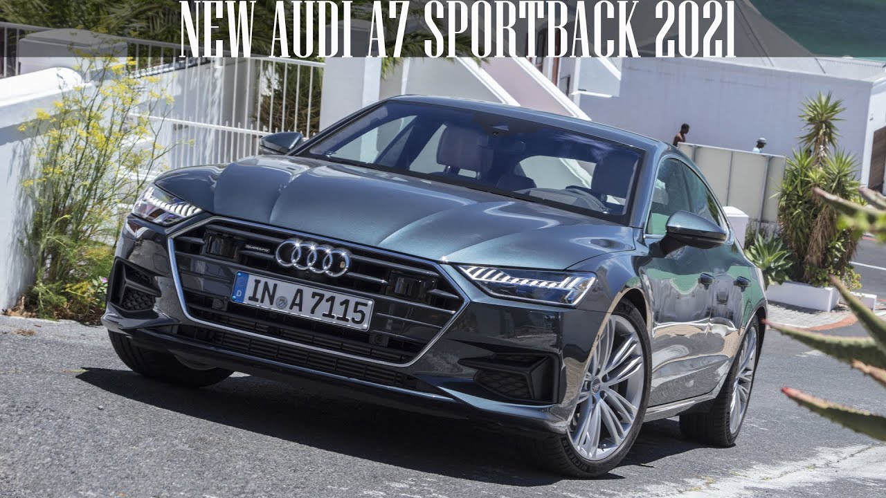 new audi a7 sportback 2021 full review  youtube
