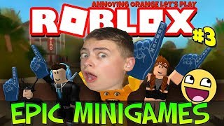 Приключения героя в РОБЛОКС мини игры Roblox Epic Mini games от канала GAMES FACTORY