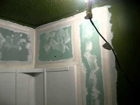 Bathroom remodeling and sheet rock drywall repair in for Bath remodel little rock ar