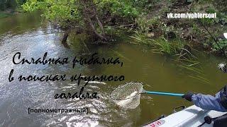 Ловля голавля летом на спиннинг. Сплавная рыбалка. Видео отчет от 07.06.2015 г.