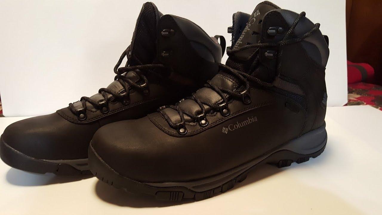 Columbia Mudhawk waterproof hiking boots review 2016 - YouTube
