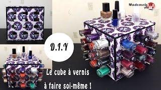 DIY : le cube à vernis à fabriquer soi-même !