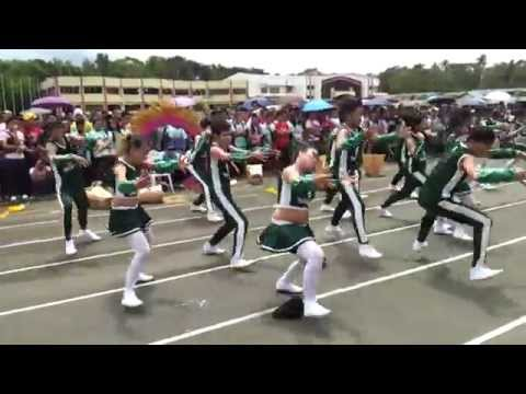 "I-Cube Assemble ""Green Timberwolves"" Dance Olympics 3rd Runner Up - HTI Sportsfest 2014"
