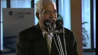 Palabras del Vicepresidente de Surinam a su llegada a La Habana, para asistir a la V Cumbre CARICOM
