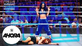 Becky Lynch Sasha Banks y Bianca Belair ponen la firma WWE Ahora Oct 8 2021