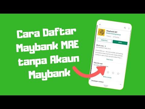 Cara Buka Account Maybank Untuk Warga Negara Asing Di Malaysia Youtube