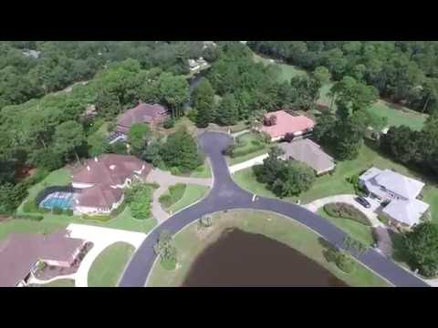 Niceville's Bluewater Bay Florida Aerial Video 2 - DJI P3A