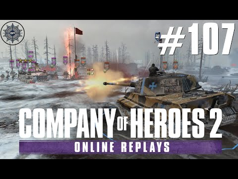 Company of Heroes 2 Online Replays #107 - Cheesing too close to the Sun