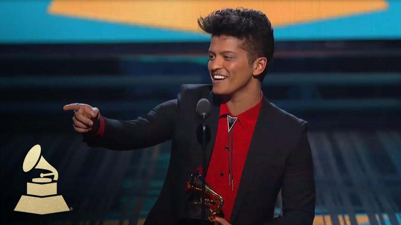 Download Bruno Mars Wins Best Pop Vocal Album for Unorthodox Jukebox | GRAMMYs