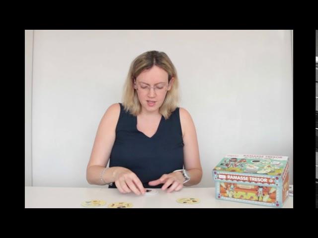ramasse trésor de Ludattica : jeu d'observation et de rapidité