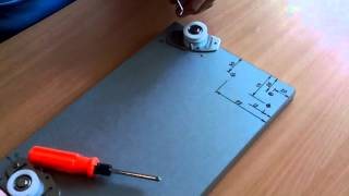 Разметка и монтаж дверцы на раздвижной системе Омега 60 (Комфорт 156)