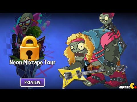 Plants Vs Zombies 2 - LIVE STREAM Neon Mixtape Tour!