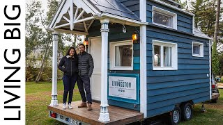 The Amazing Tiny House Traveling The World! 🌍