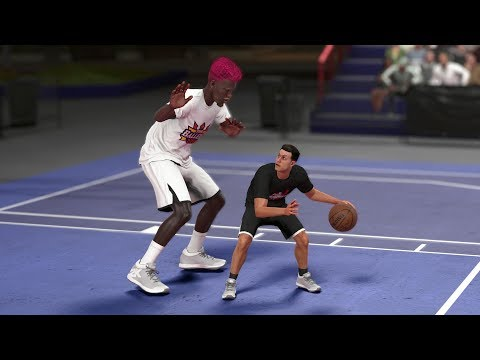Can A Giant 0 Overall Player Beat A Tiny 99 Overall Player In A 1v1? NBA 2K18 Challenge!