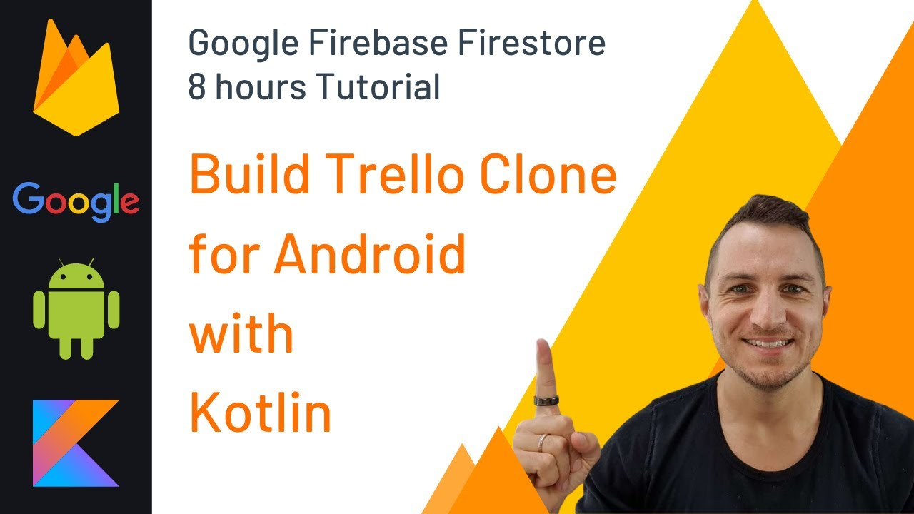 Build Trello Clone For Android with Google Firebase Firestoreand and Kotlin