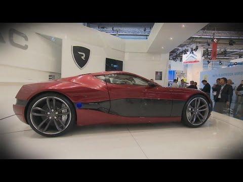 Jaguar C-X16 und Concept_One auf der IAA Frankfurt