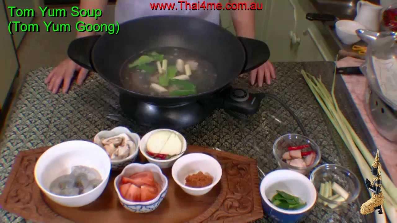 Tom Yum Soup - YouTube