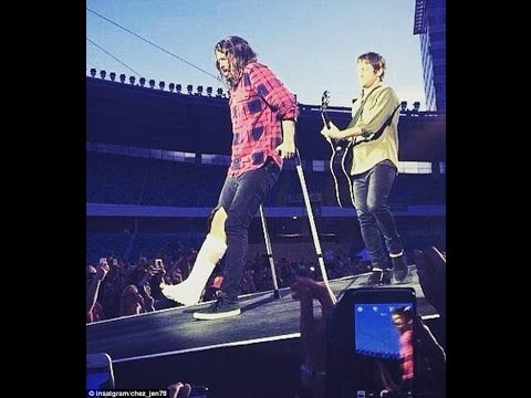 Foo Fighters - Sweden 2015 - Dave's Broken Leg @ Ullevi Gothenburg Sweden- Full