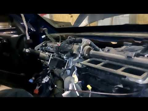 Замена радиатора печки  Рено Меган 2