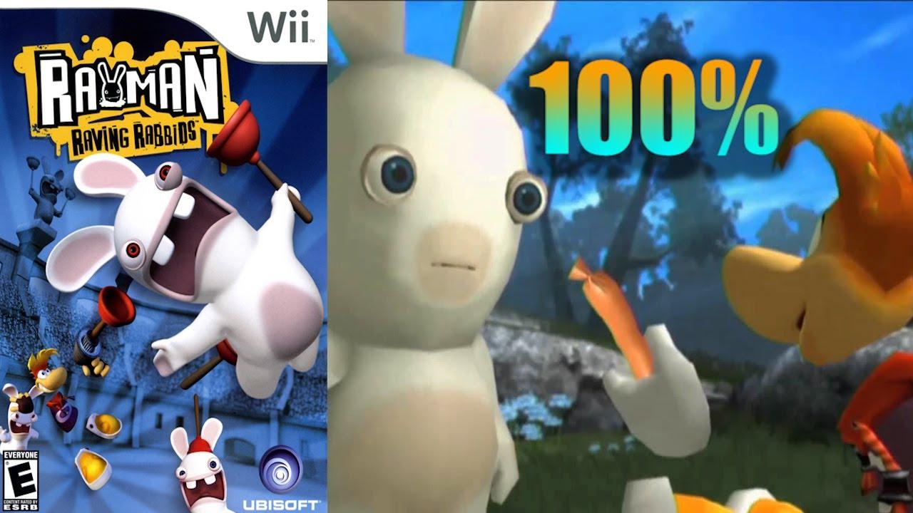 Rayman Raving Rabbids [11] 100% Wii Longplay - YouTube