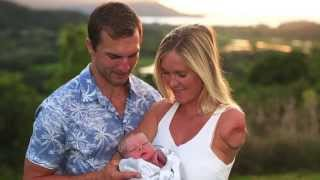 Surfer Bethany Hamilton gives birth to a baby boy