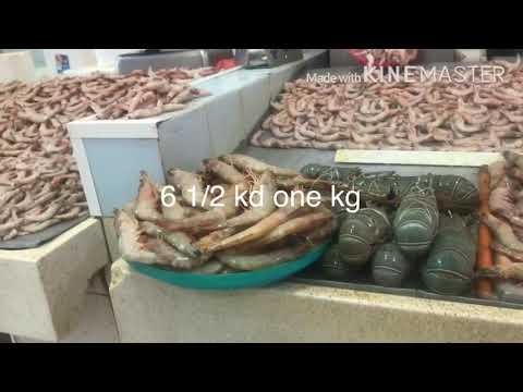 Fish Market In Central Souq  Kuwait 🇰🇼