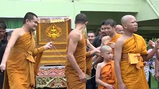 Cremation Ceremony Video No.63 : 19 November 2018 : Wat Worachanyawas, BKK. Thailand