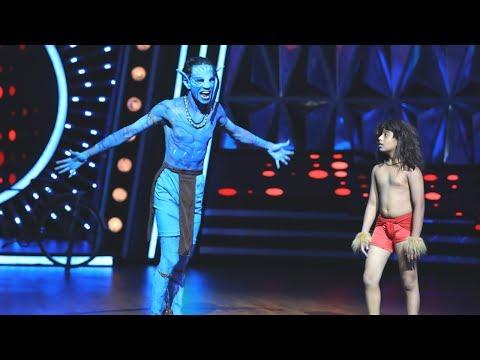 D4 Junior Vs Senior I 'Avatar' jishnu & 'Tarzan' Abhinav I Mazhavil Manorama