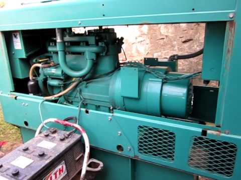 15 kw cummins onan diesel generator set youtube. Black Bedroom Furniture Sets. Home Design Ideas