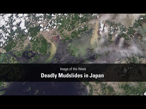 Image of the Week - Deadly Mudslides in Japan