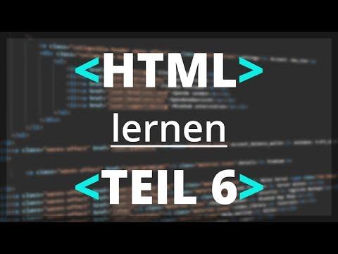HTML Lernen -  Container | Teil 6 [deutsch]