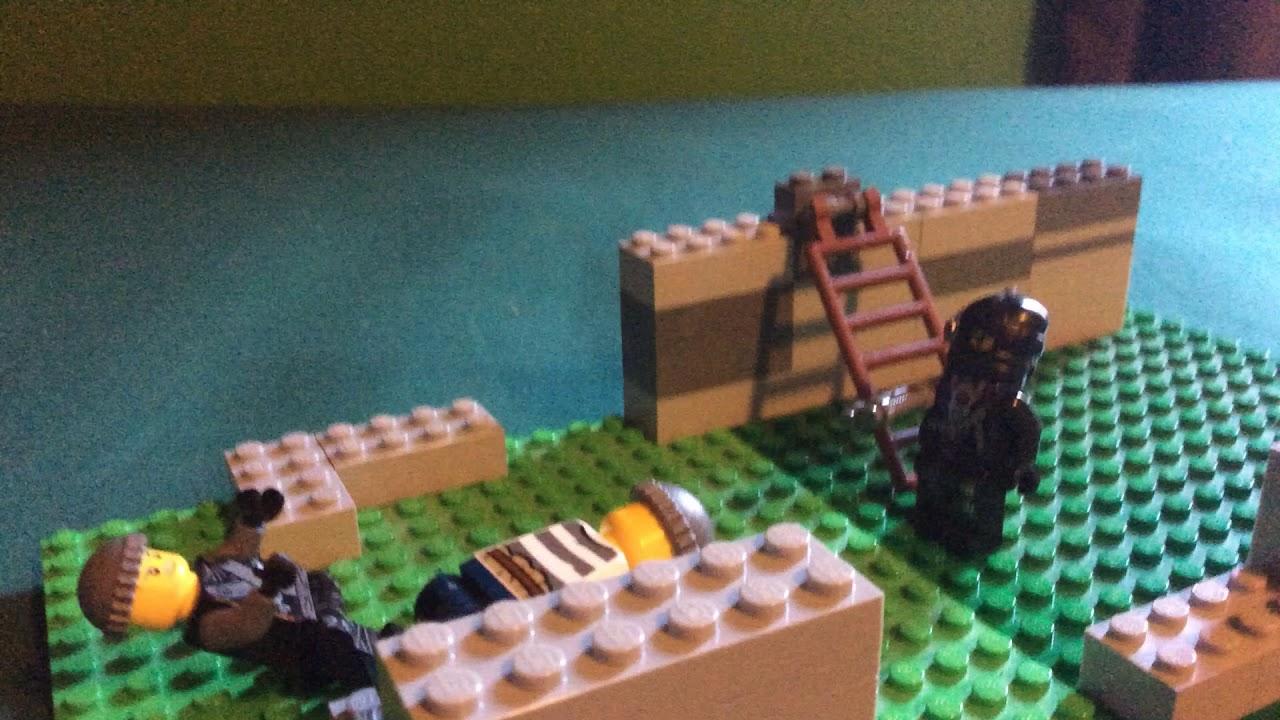LEGO zombie attack! - YouTube