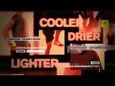 1eb69d96625 Under Armour HeatGear Technology - YouTube